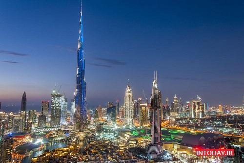 تصاویر برج خلیفه دبی امارات