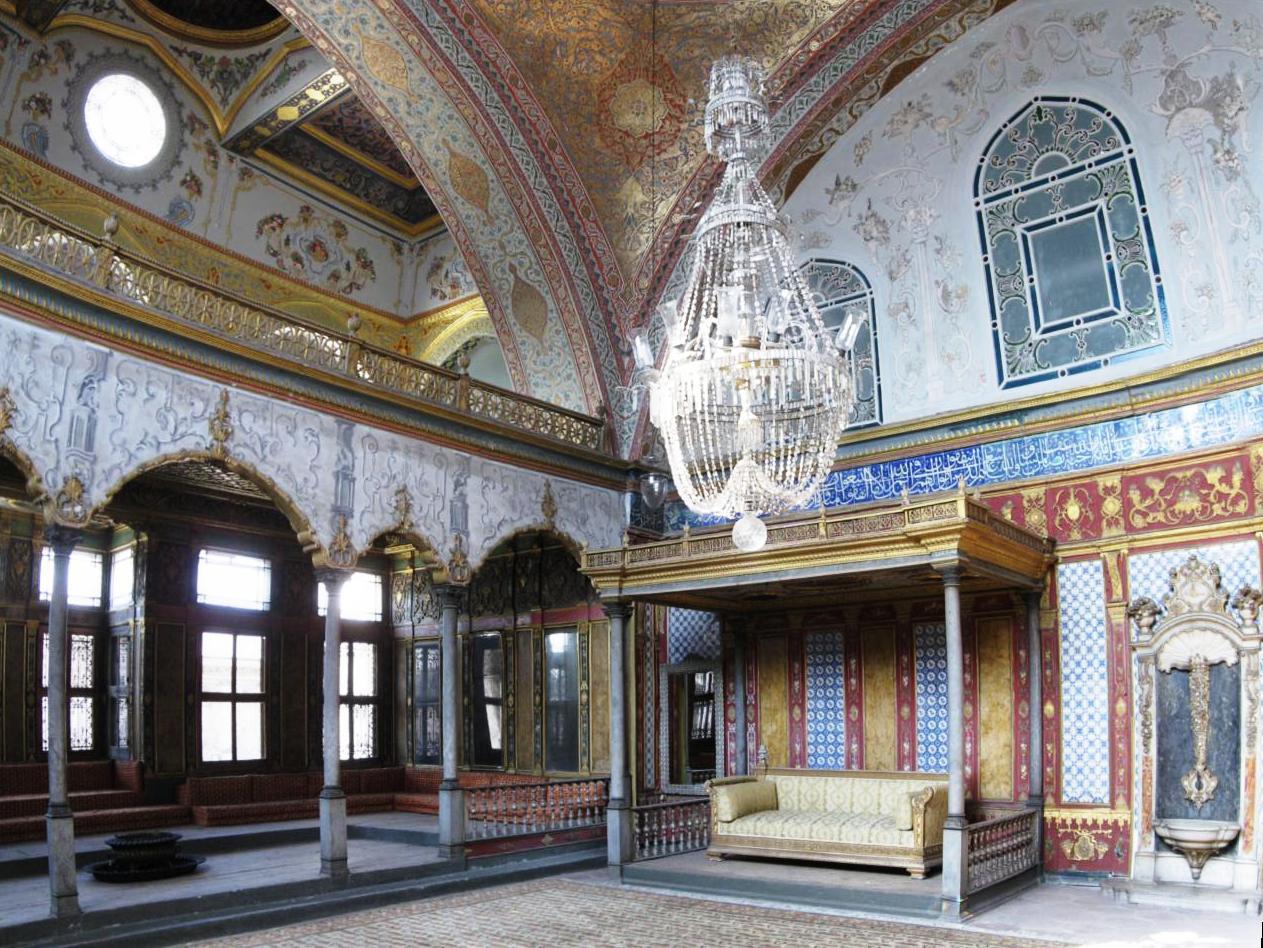 عکس کاخ توپکاپی استانبول ترکیه