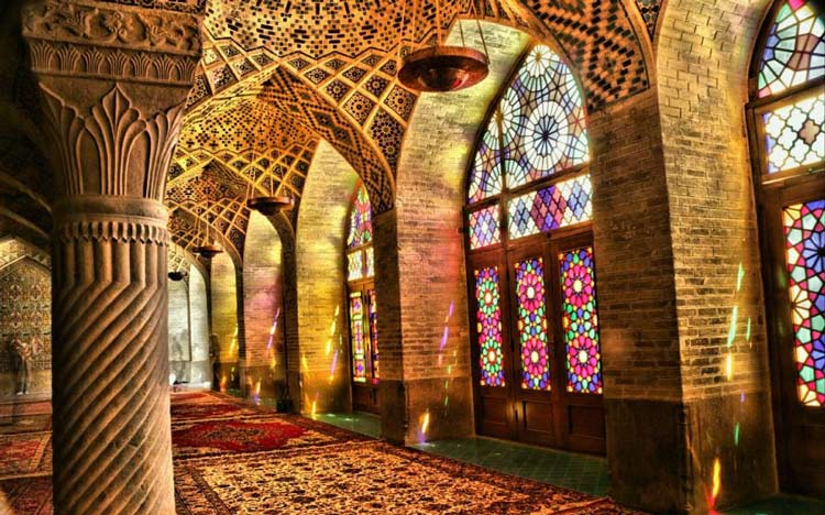 مسجد نصیر الملک شیراز، تصاویر مسجد نصیرالملک شیراز
