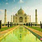 تصاویر کامل تاج محل در شهر آگرا هندوستان