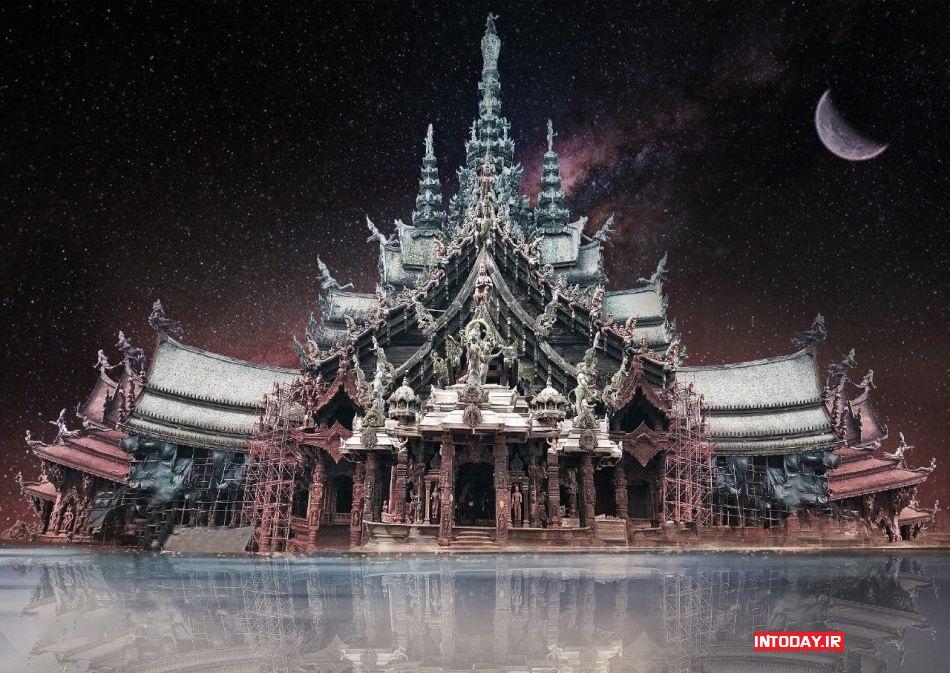 تصاویر معبد حقیقت پاتایا در تایلند