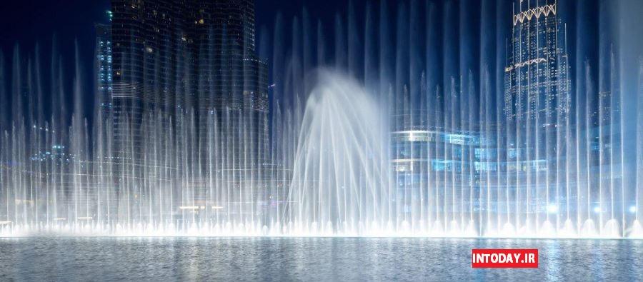 تصاویر آبنمای موزیکال دبی