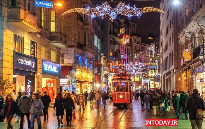 تصاویر خیابان استقلال استانبول