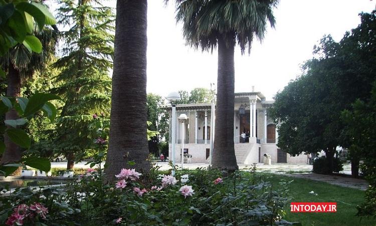 باغ عفیف آباد شیراز | موزه نظامی باغ عفیف آباد