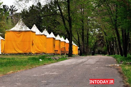 کمپ اسکان زائر غدیر مشهد | پارک جنگلی طرق مشهد