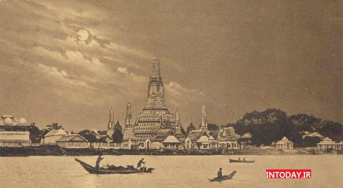 معبد وات آرون بانکوک   وات ارون تایلند