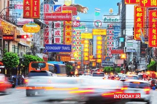 محله چینی های بانکوک | جاده یائومارت بانکوک