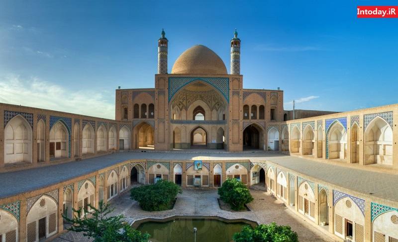 مسجد آقا بزرگ | مدرسه آقا بزرگ کاشان