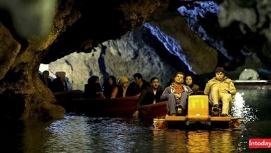 تصویر از غار علی صدر همدان کجاست؟