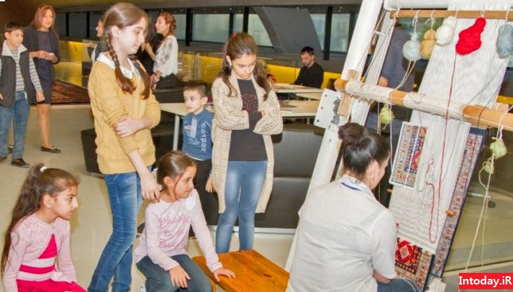 موزه فرش باکو آذربایجان | Azerbaijan Carpet Museum