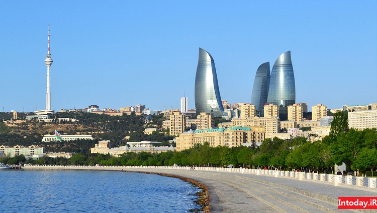 برج های شعله باکو | Baku Flame Towers