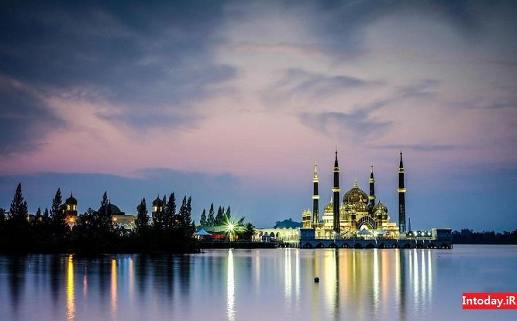 مسجد کریستالی مالزی | Crystal Mosque