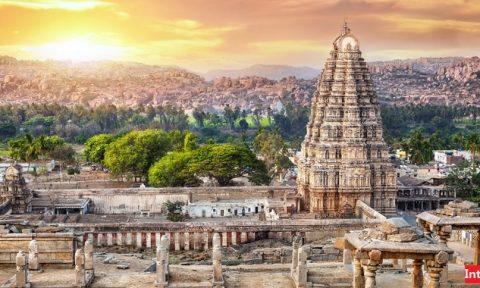 معبد ویروپاکشا هند هامپی