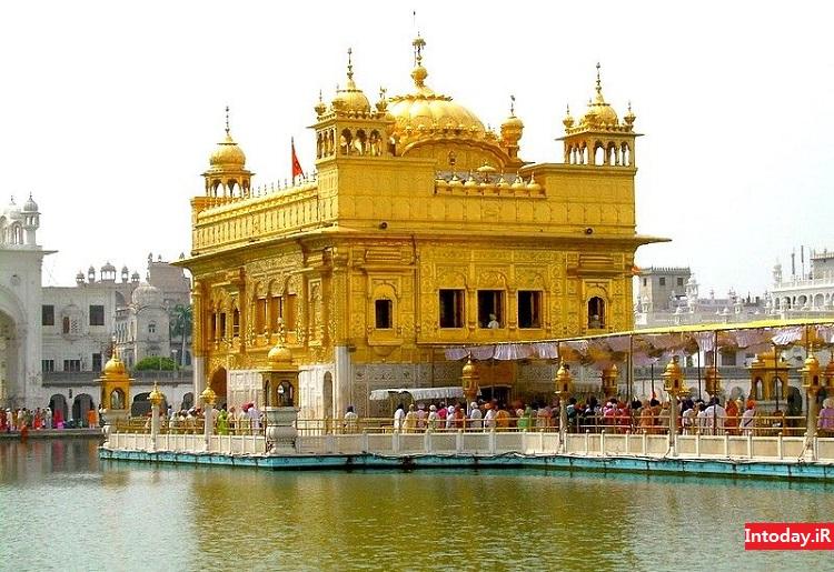 معبد هارماندیر صاحب هند | معبد طلایی کلکته