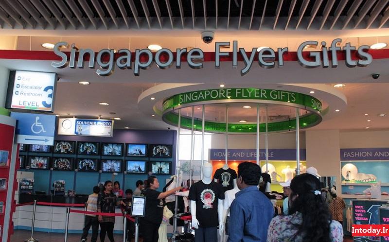 چرخ و فلک فلایر سنگاپور | SINGAPORE FLYER