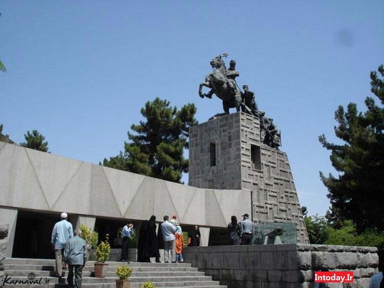 آرامگاه نادرشاه افشار مشهد | باغ موزه نادری