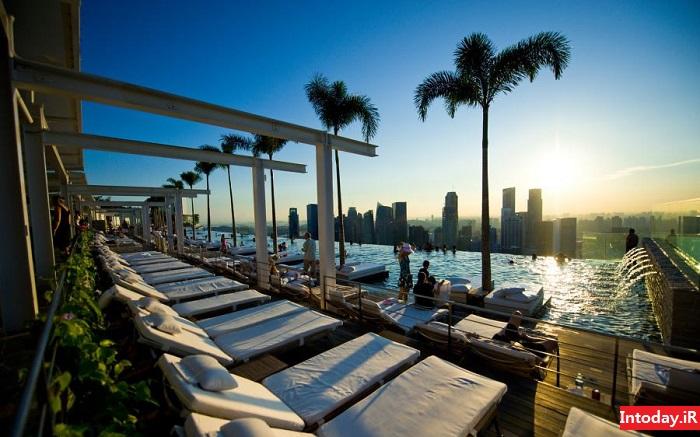 هتل شنهای خلیج مارینا سنگاپور