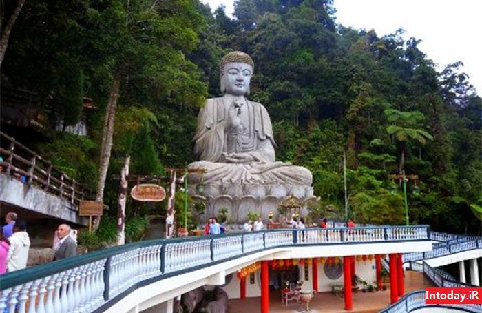 معبد باتو کیوز مالزی - غار میمون های کوالالامپور