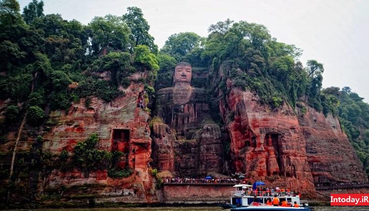 مجسمه بودای بزرگ لشان چین