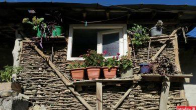 منازل روستای زیارت