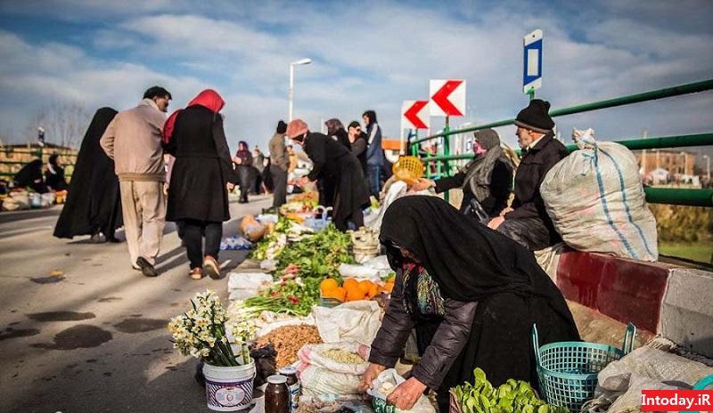 بازار روز امل | Amol Market Day