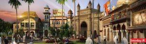 شهربازی بالیوود پارک دبی | برترین شهربازی های دبی