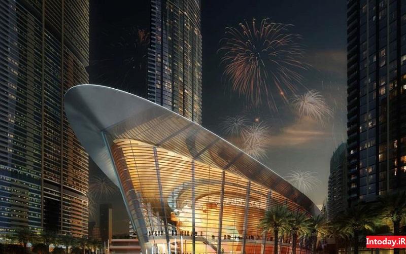 سالن اپرا دبی | Dubai Opera