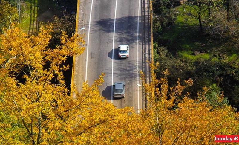 گردنه حیران | Heyran Road Astara