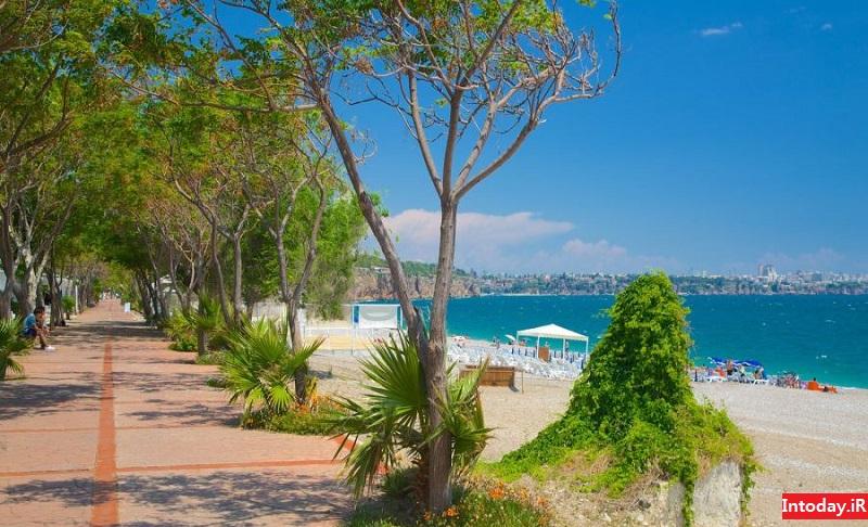 ساحل کنیالتی آنتالیا | Konyaaltı Beach