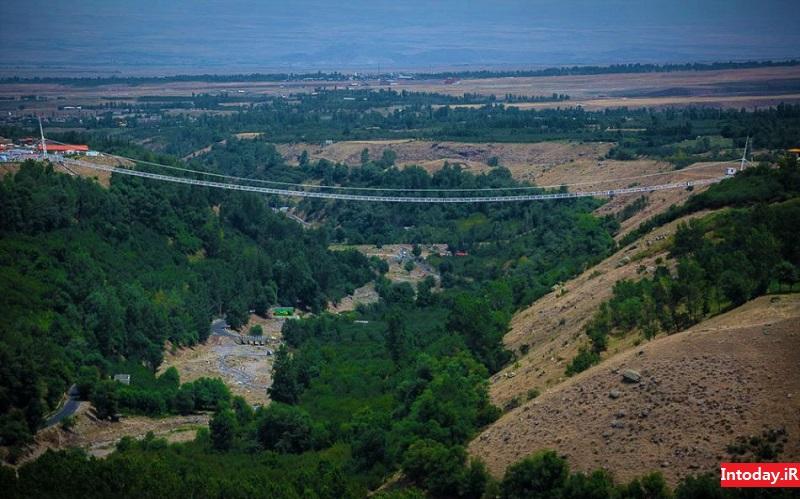پل معلق مشگین شهر | Meshginshahr suspension bridge