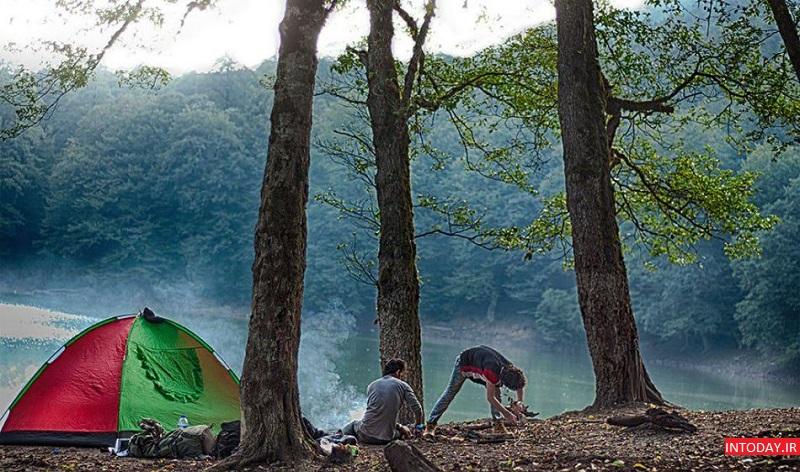 تصاویر دریاچه چورت ساری مازندران - Churat Lake