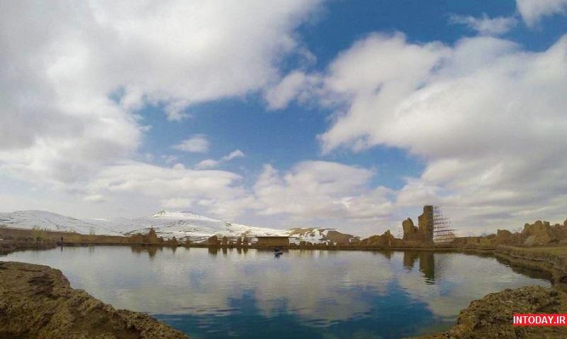 دریاچه تخت سلیمان تکاب آذربایجان غربی