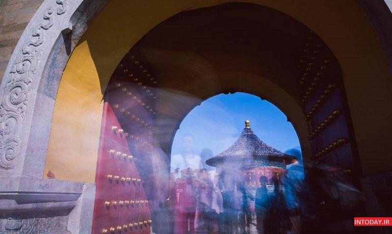 تصاویر معبد بهشت چین - معبد بهشت پکن