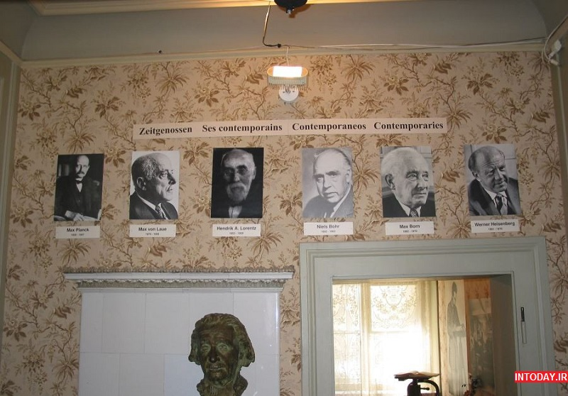 عکس خانه آلبرت انیشتین سوئیس