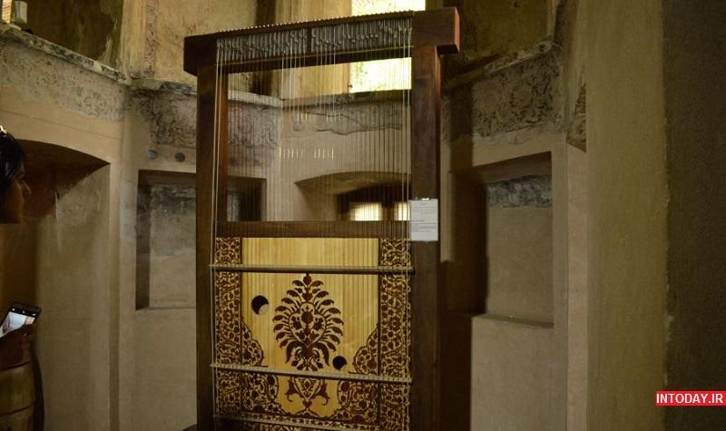 عکس کاخ چهل ستون قزوین