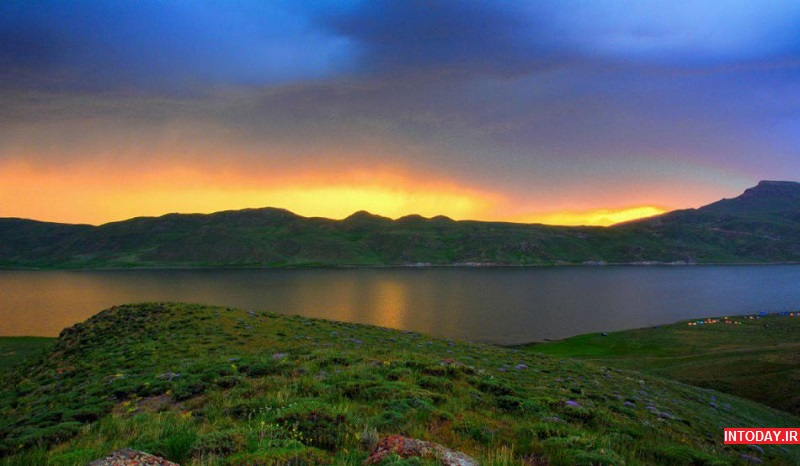 تصاویر دریاچه نئور اردبیل