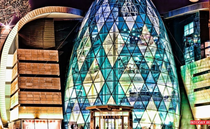 تصاویر مرکز خرید پارک بلوار باکو