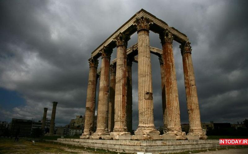 تندس زئوس - معبد زئوس یونان