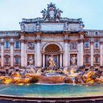 عکس فواره تروی رم در ایتالیا