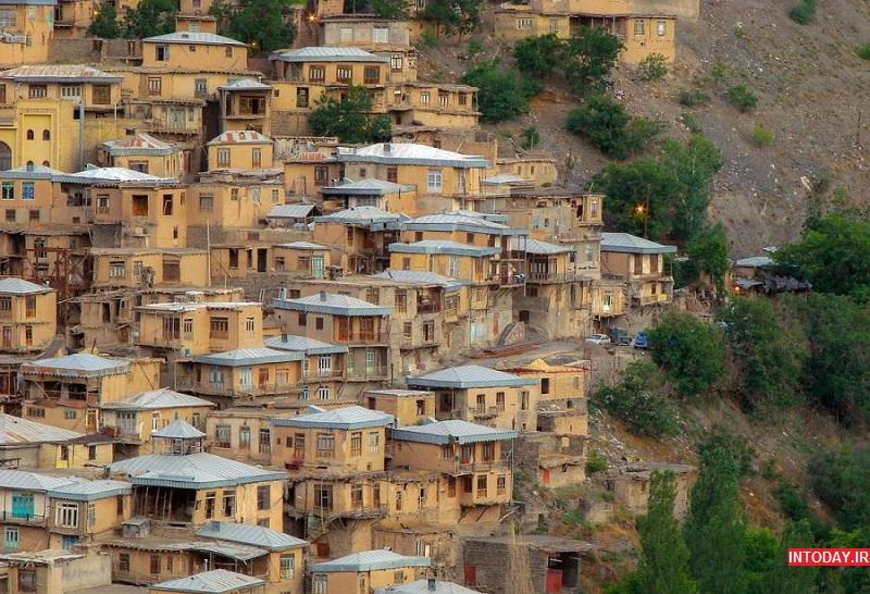 عکس روستای کنگ طرقبه در مشهد