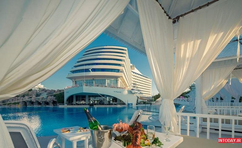 هتل های 5 ستاره UALL آنتالیا ترکیه