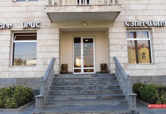 هتل های 3 ستاره ایروان ارمنستان