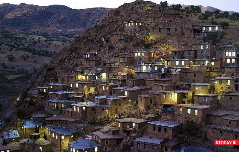 عکس روستای پالنگان کردستان