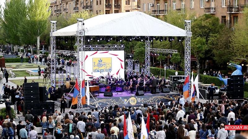 معرفی شهر ایروان ارمنستان