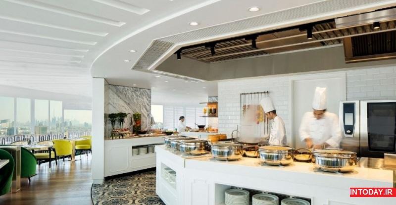 عکس رستوران های لوکس دبی