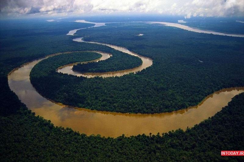 عریض ترین رودخانه جهان
