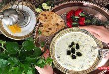 تصویر از لیست غذاهای محلی اردبیل با عکس و مواد اولیه