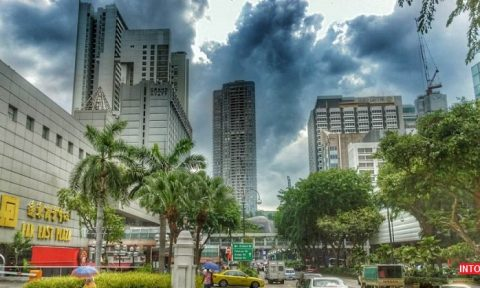 عکس مرکز خرید فار ایست پلازا سنگاپور