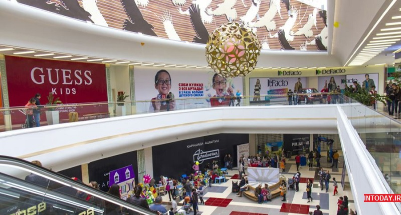 مرکز خرید مگاسنتر آلماتی قزاقستان