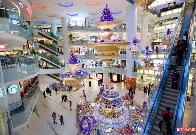 تصاویر بهترین مراکز خرید پکن چین